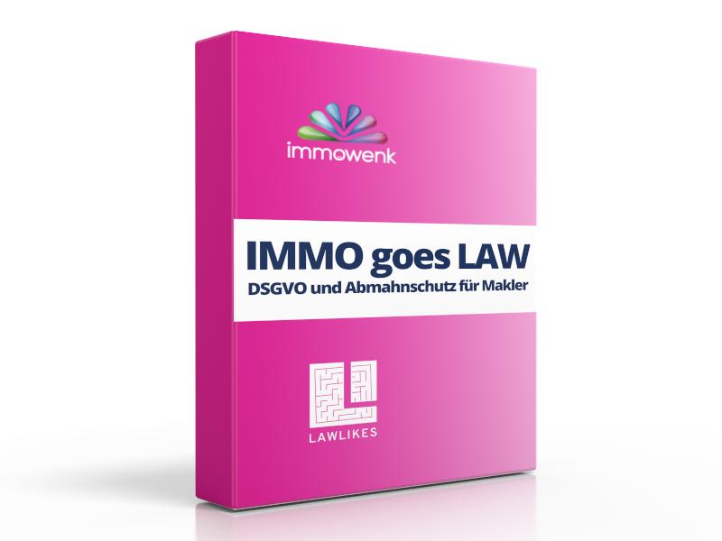 Produktbild IMMO goes LAW